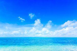 石垣島のビーチで撮影
